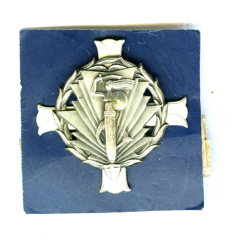 2nd Artillery Group 2 piece construction hallmarked  800 silver by Lorioli with... 1