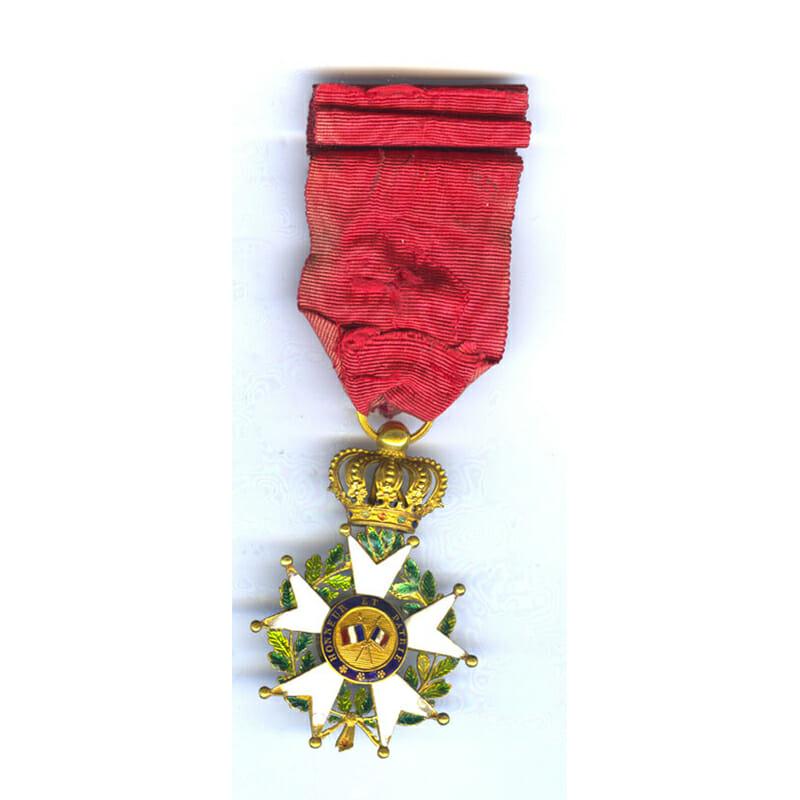 Legion D'Honneur Officer  Henry IV Monarchy of July 2