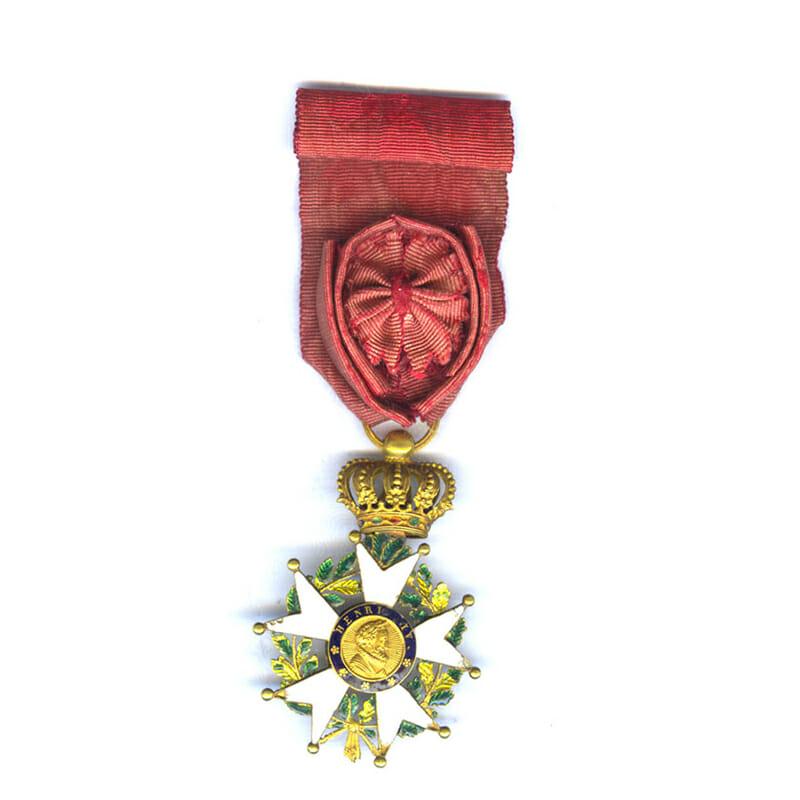 Legion D'Honneur Officer  Henry IV Monarchy of July 1