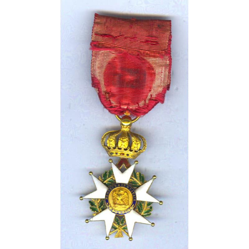 Legion D'Honneur Officer badge 2nd Empire Crimea period 2