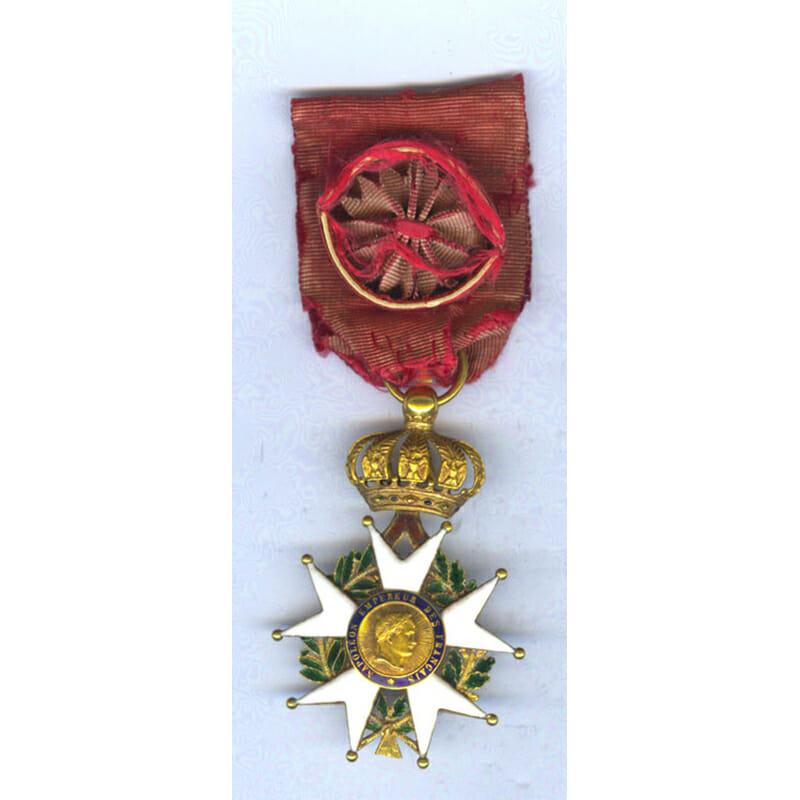 Legion D'Honneur Officer badge 2nd Empire Crimea period 1