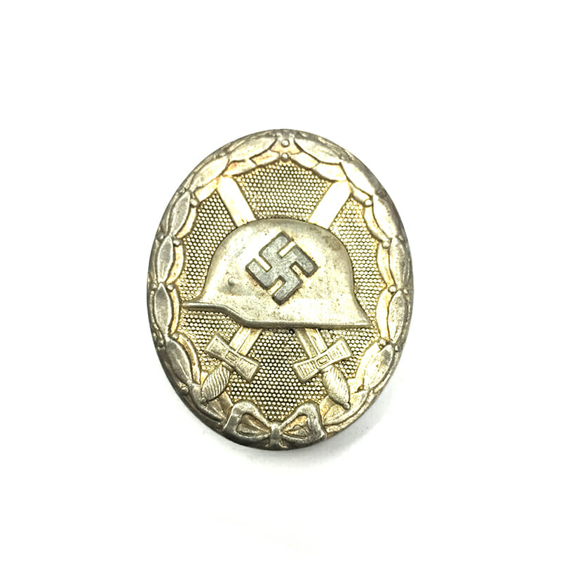 Wound badge silver class  hollow 1