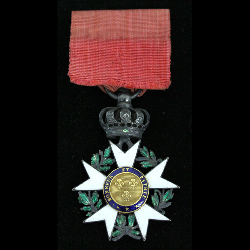 Legion D'Honneur  Knight  1st Empire 3rd type modified with the centres of... 2