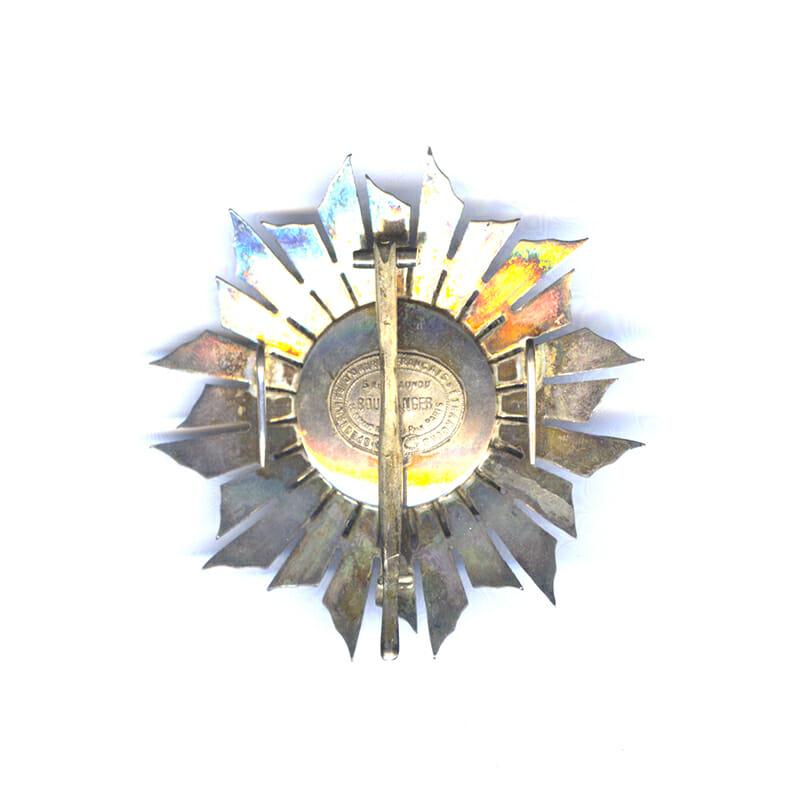 Order of Avis Grand Cross breast star Republic 2