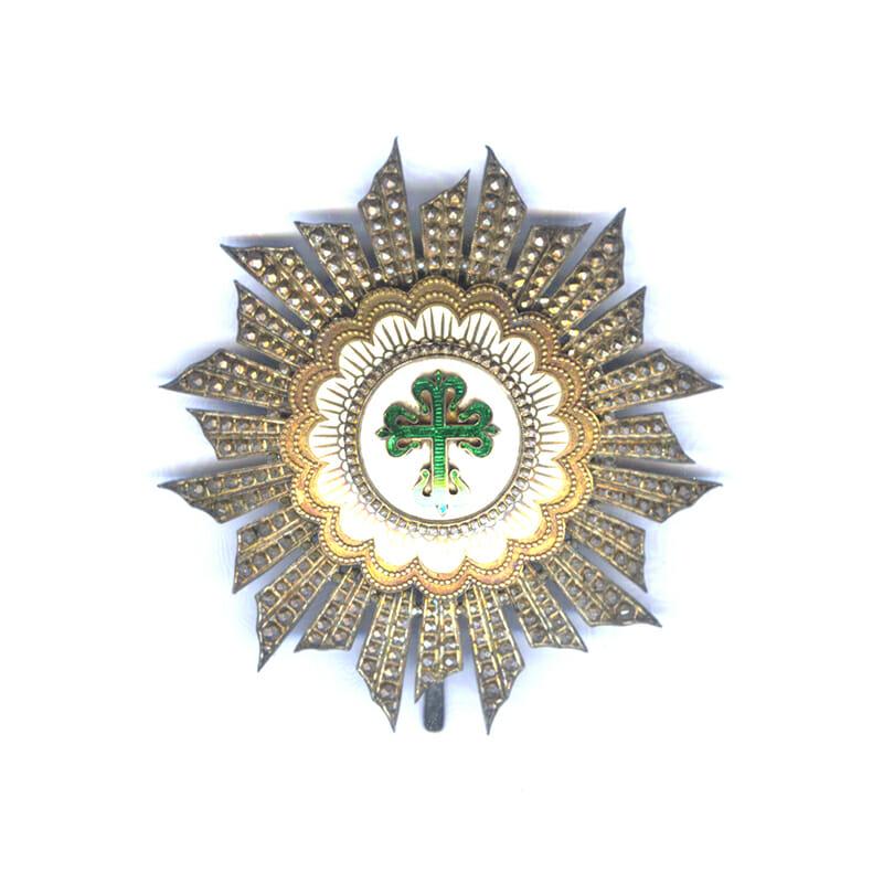 Order of Avis Grand Cross breast star Republic 1