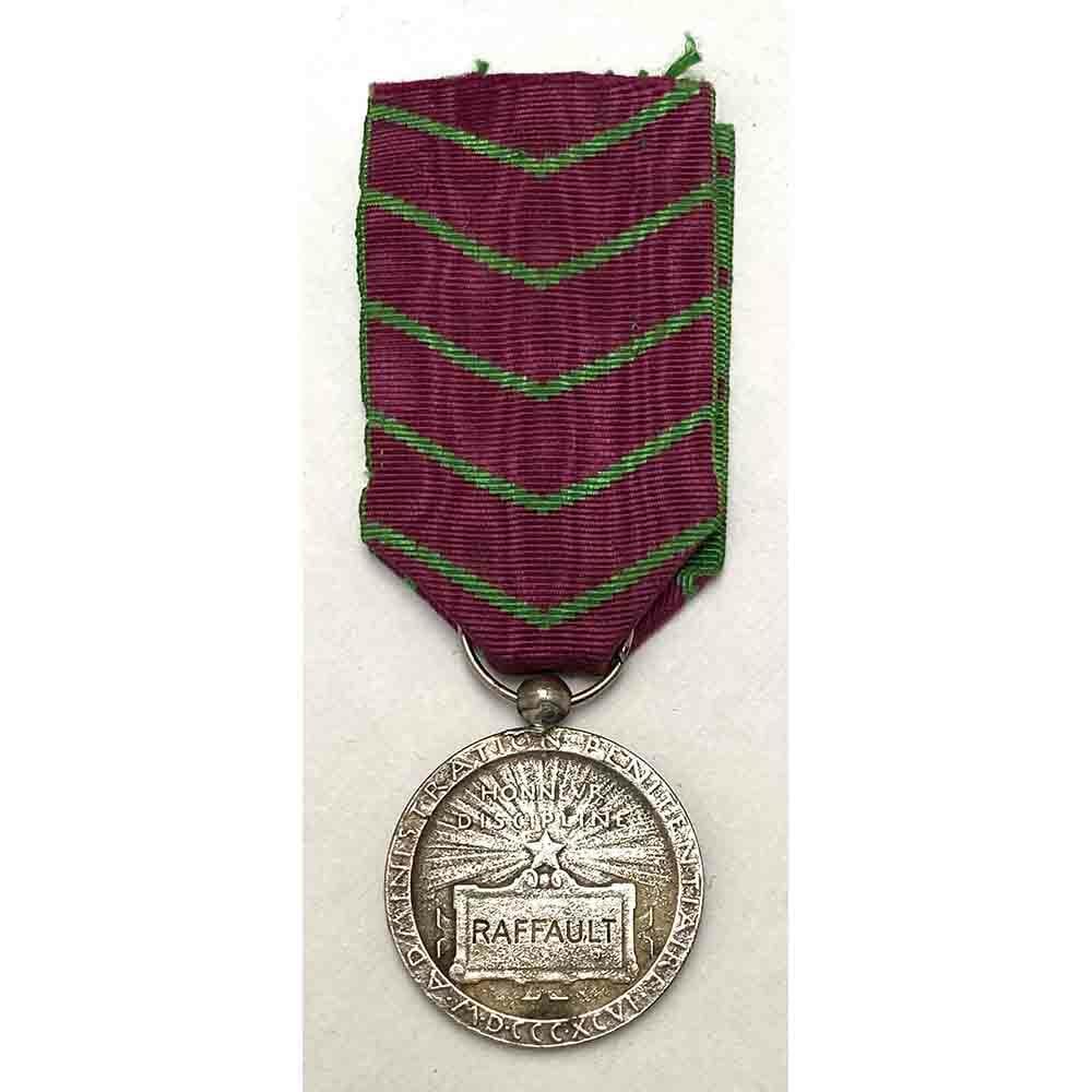 Medal of Honour Adminstration Penitentiare silver 1896 2