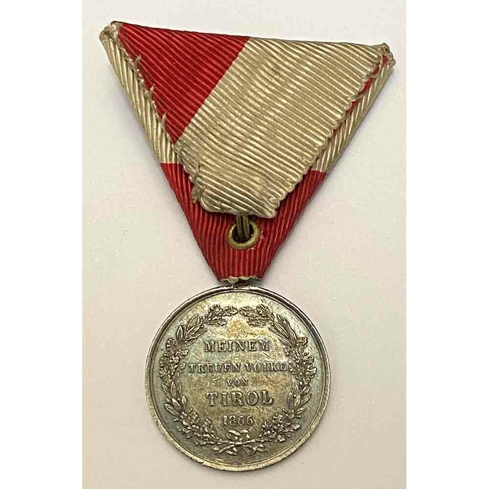 1866  Tirol Campaign Medal 2