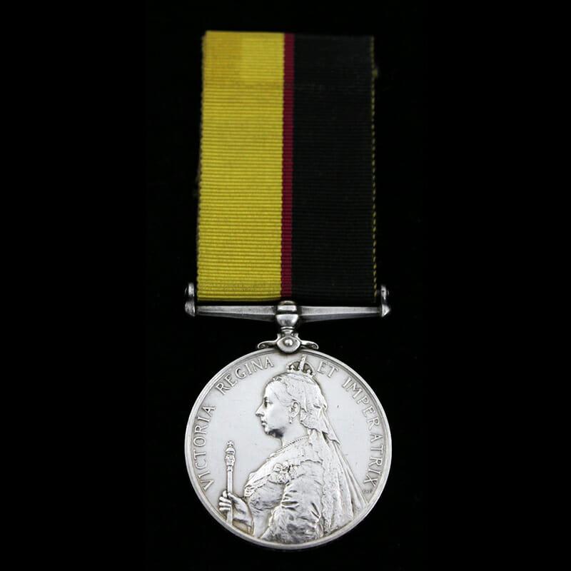 Queen's Sudan Medal 1898 1