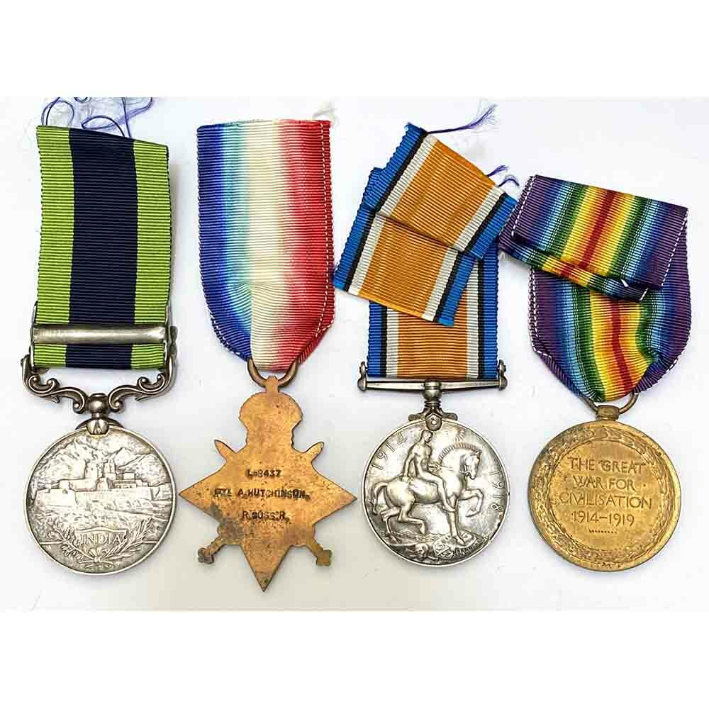 1914-15 Star Trio and IGS Royal Sussex Regt 2