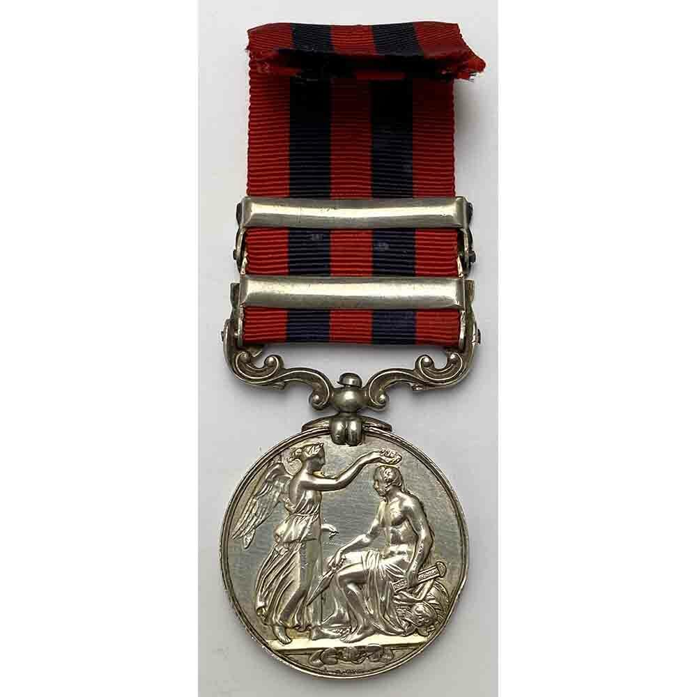 IGS 1854 2 Bars, Burma, Rifle Brigade 2