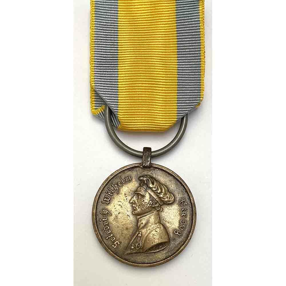 Brunswick Waterloo Medal Hussars 1