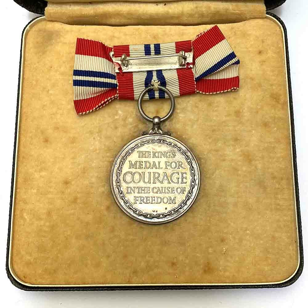King's Medal for Courage, Ladies Issue 2