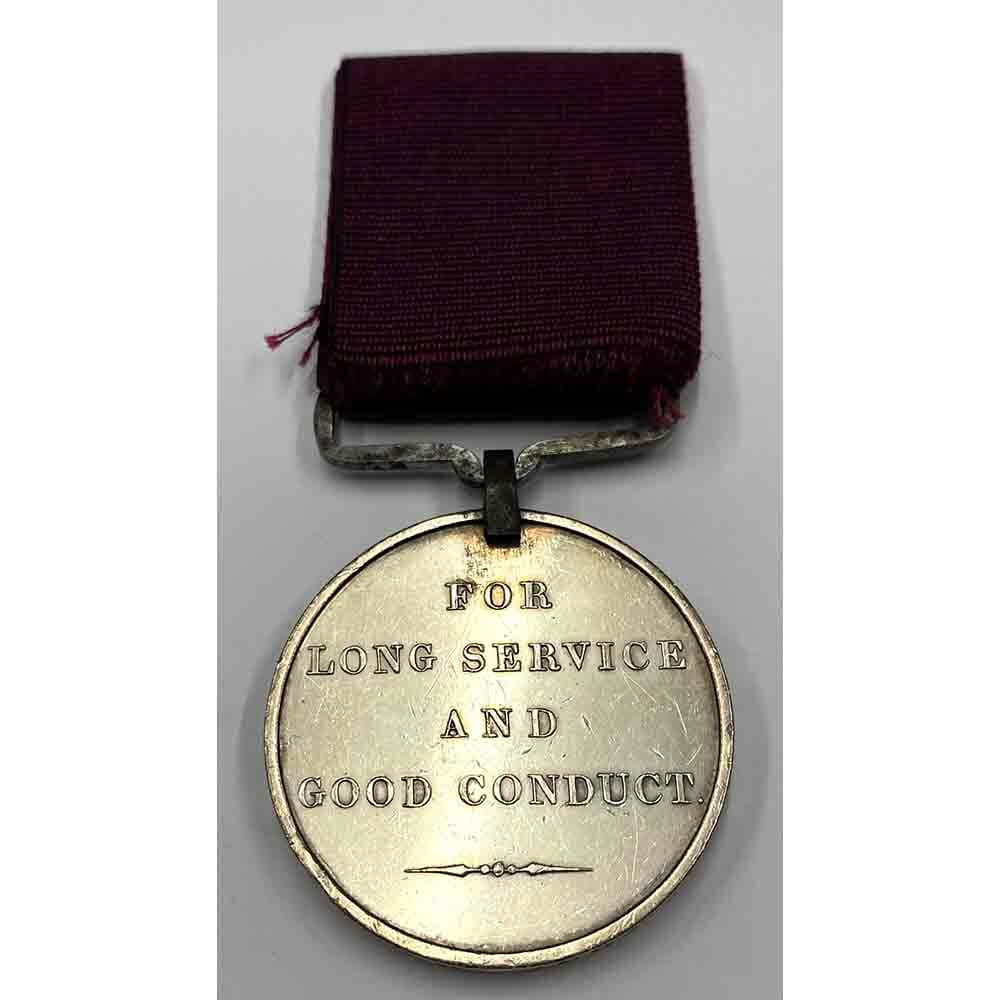 Army Long Service Medal 19th Regt WIV Issue 2