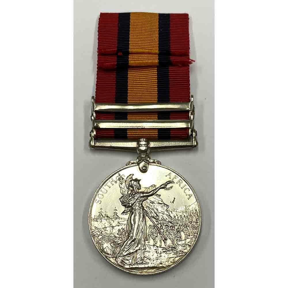 QSA Medal Defence of Ladysmith Liverpool Regt 2