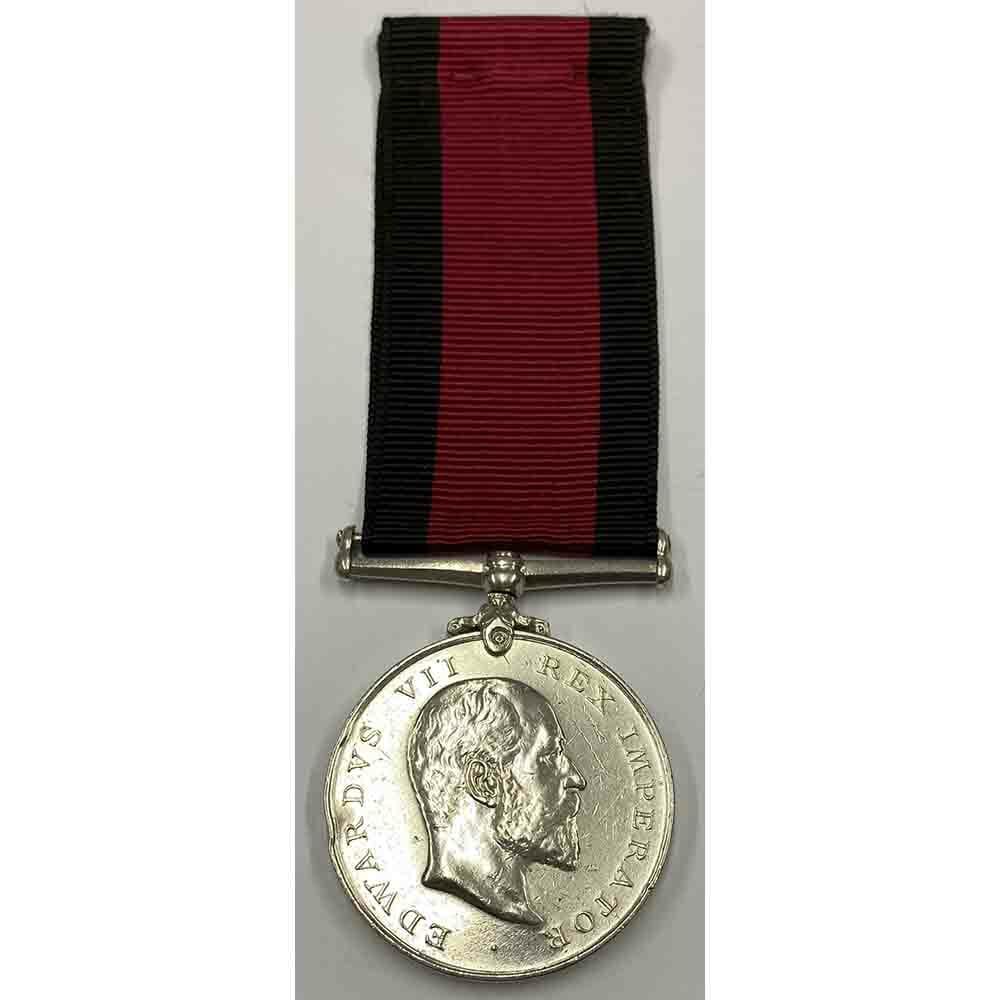 Natal Medal 1906 Klip River Reserve 1