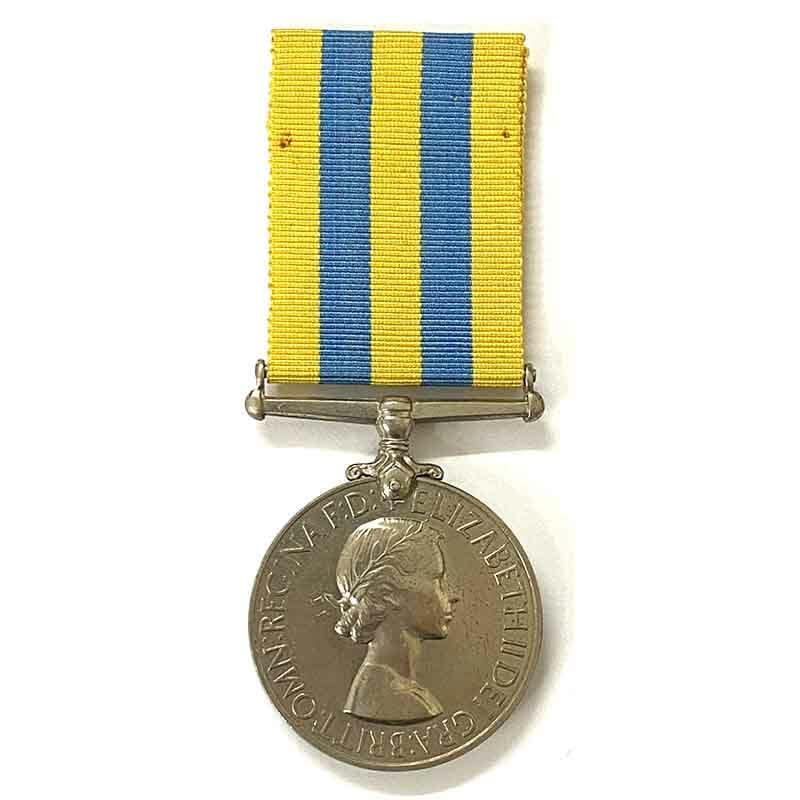 Korea Medal RAOC 1