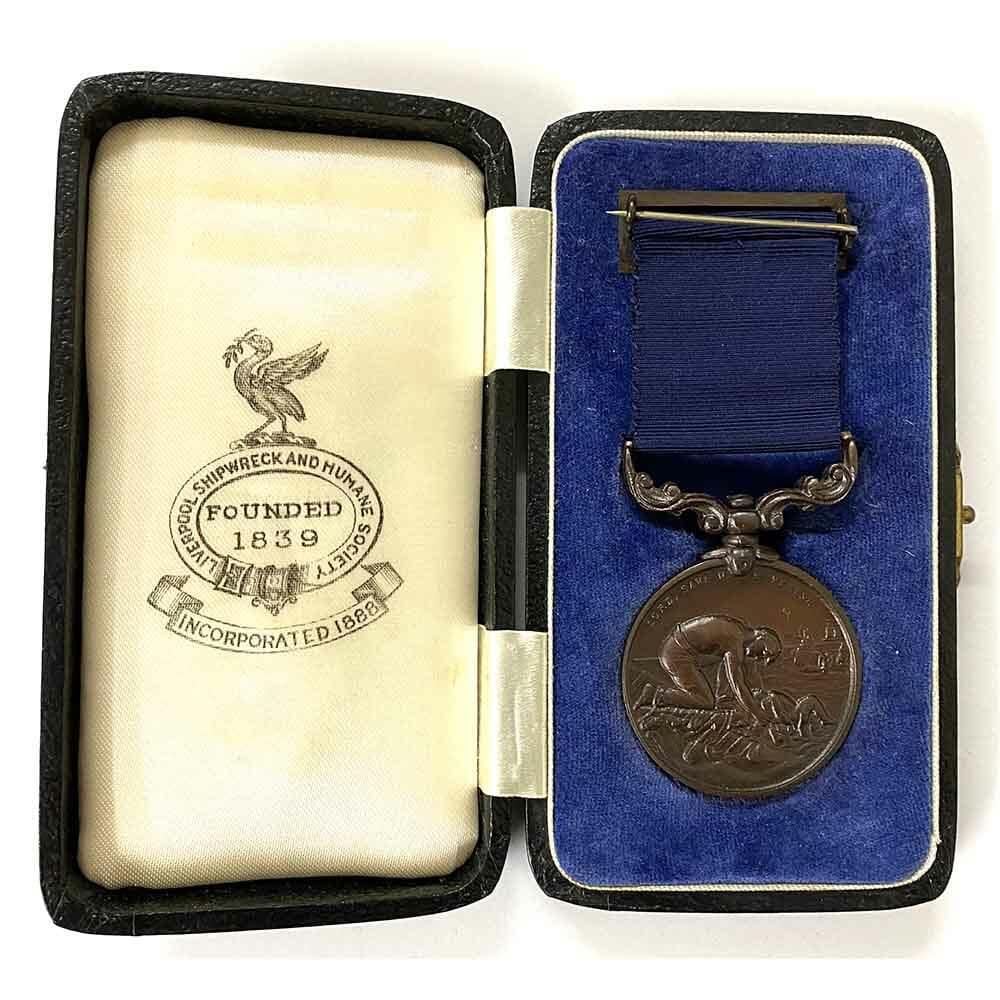 Liverpool Shipwreck Humane Society Bronze Medal 2