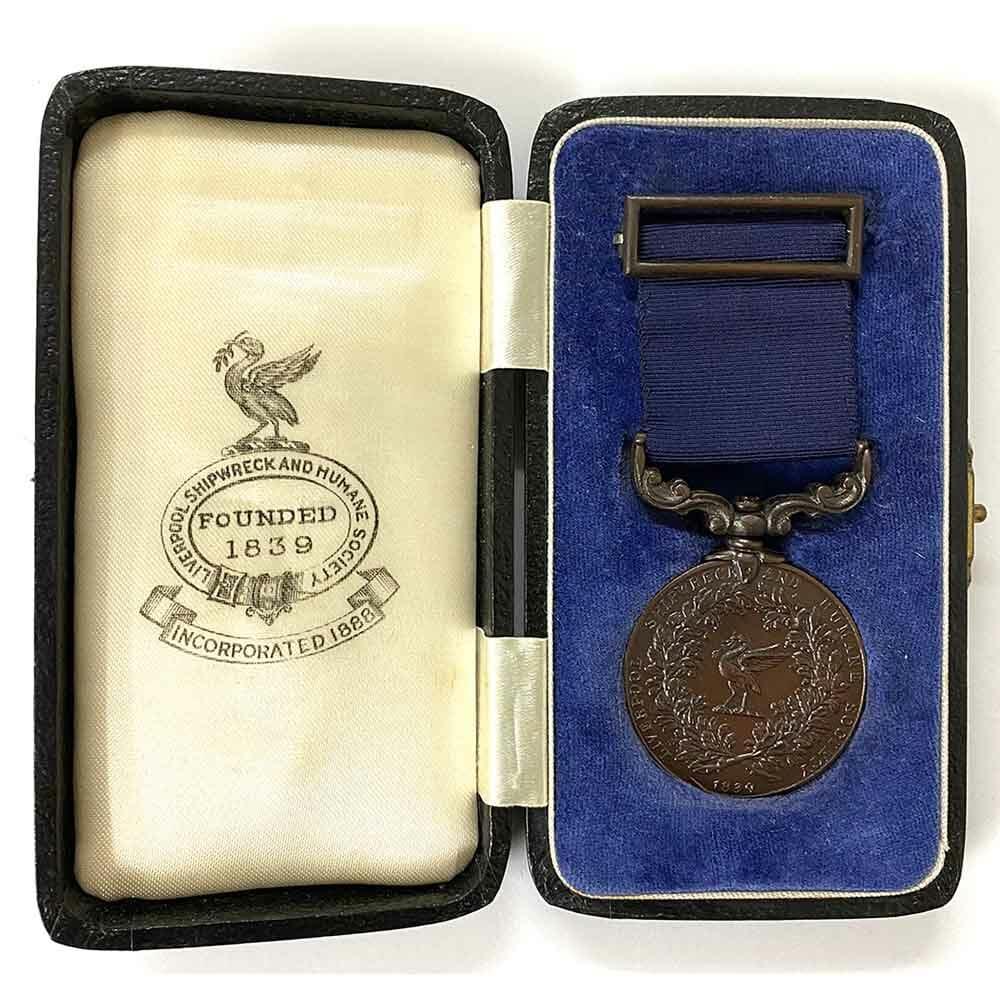 Liverpool Shipwreck Humane Society Bronze Medal 1