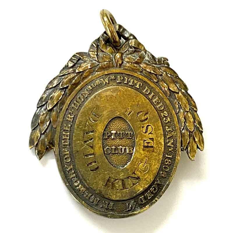 London Pitt Club Members Medal 2