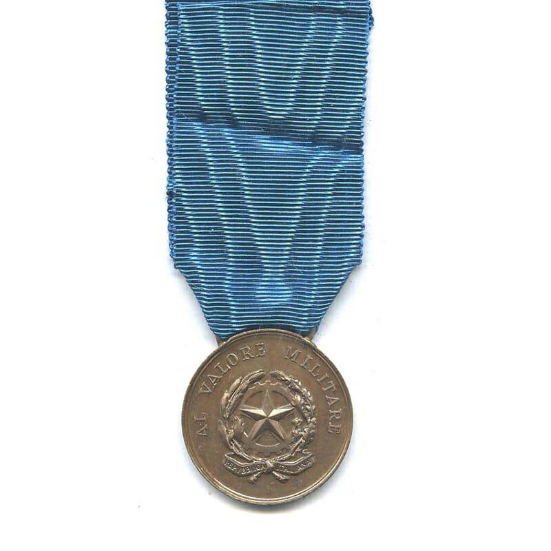 Al Valore Militare Republic  bronze 2