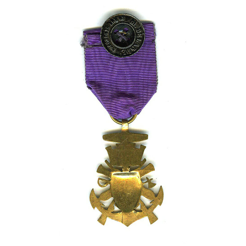 Veterans medal form of coat of arms from Medaille Militaire 2