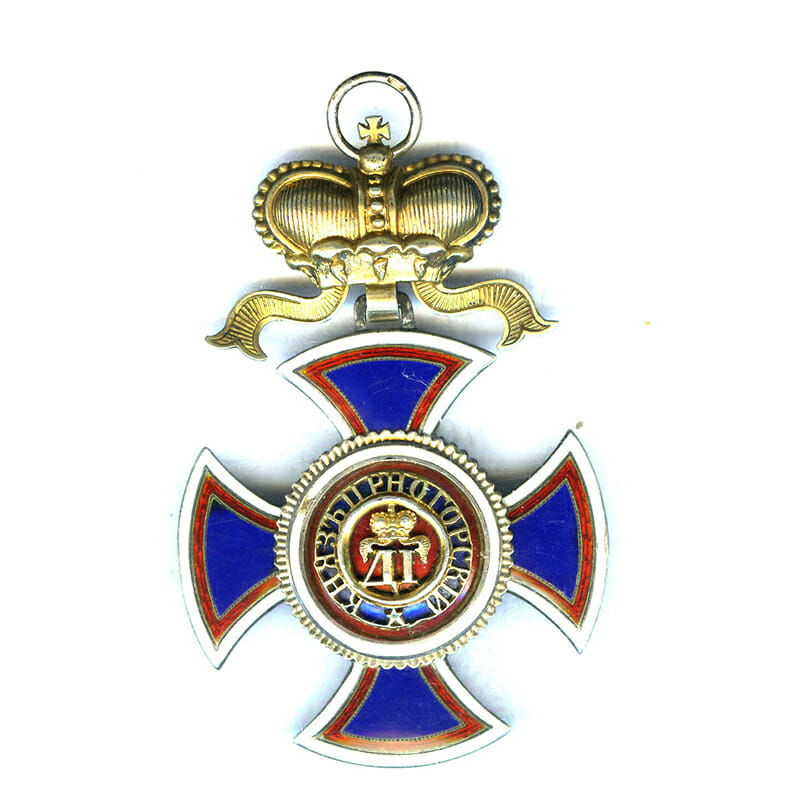 Order of Danilo Grand Cross sash badge 1