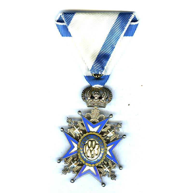 Order of St. Sava 4th class Officer 2