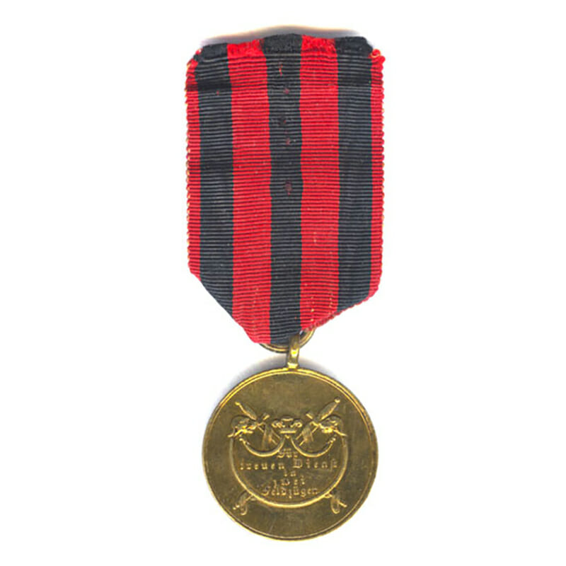 War  Medal  1793-1815 as awarded for Waterloo for 2 Campaigns	