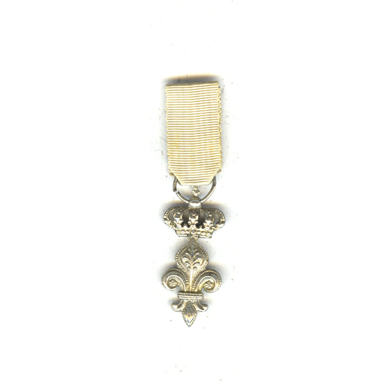 Order of the Lys  1st Type silver with Crown 1