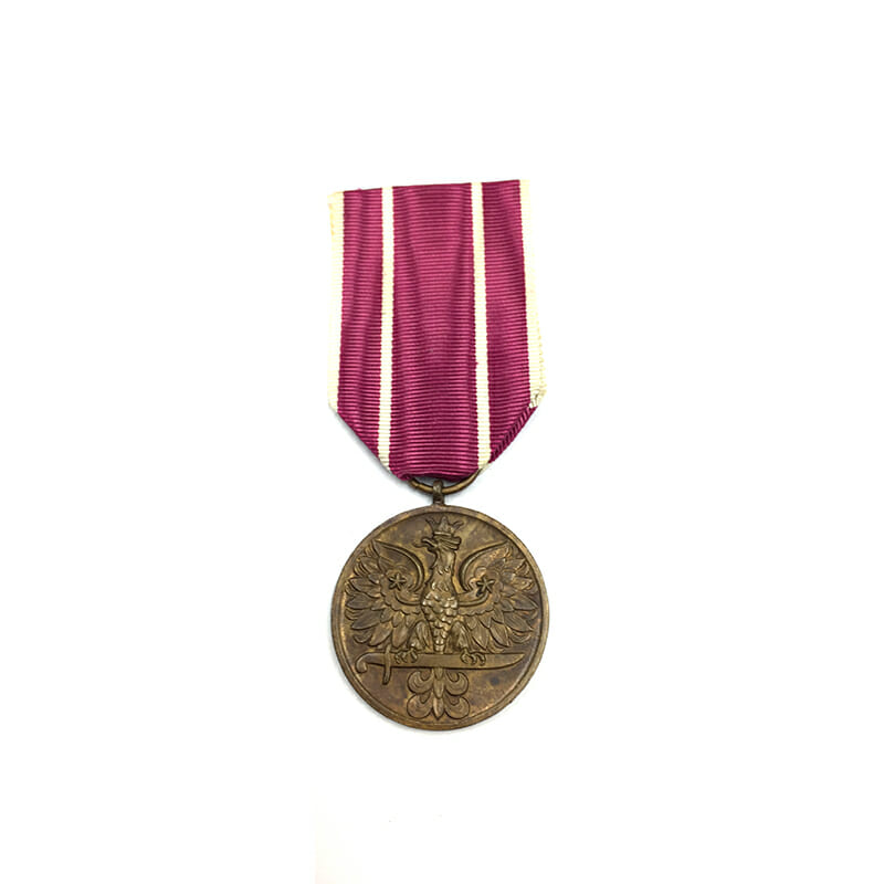 Army Active Service Medal for War 1