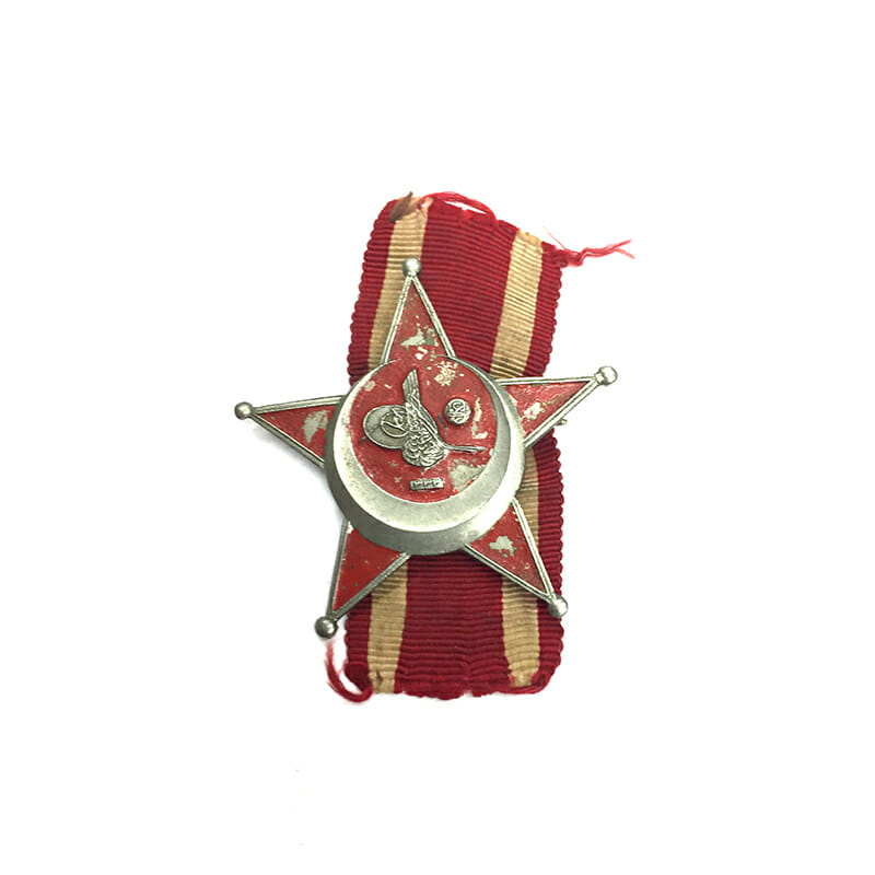 Gallipoli Star other ranks with ribbon 1