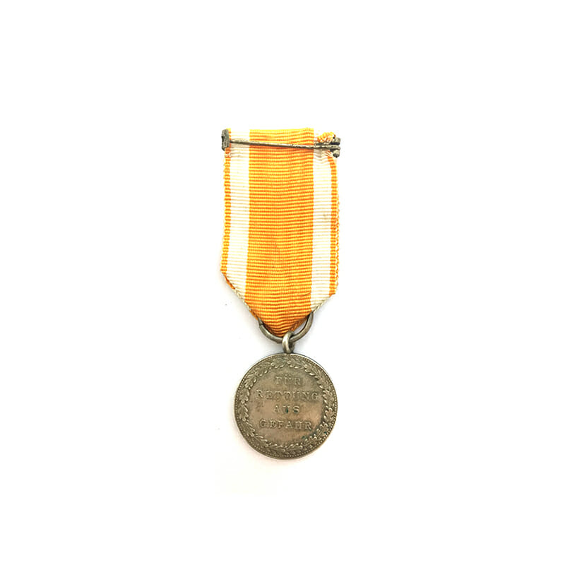 Small Lifesaving medal Land Berlin 2