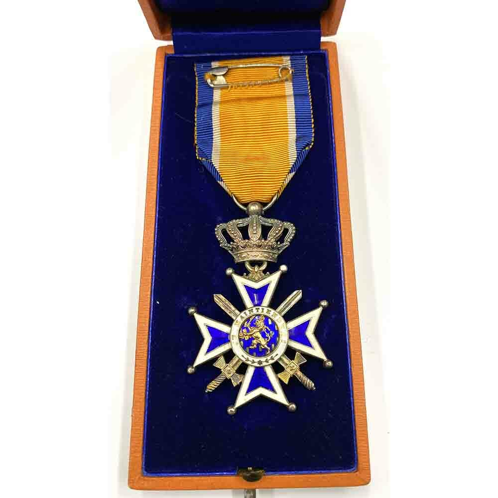 Order of Orange Nassau Knight Military with Swords 2