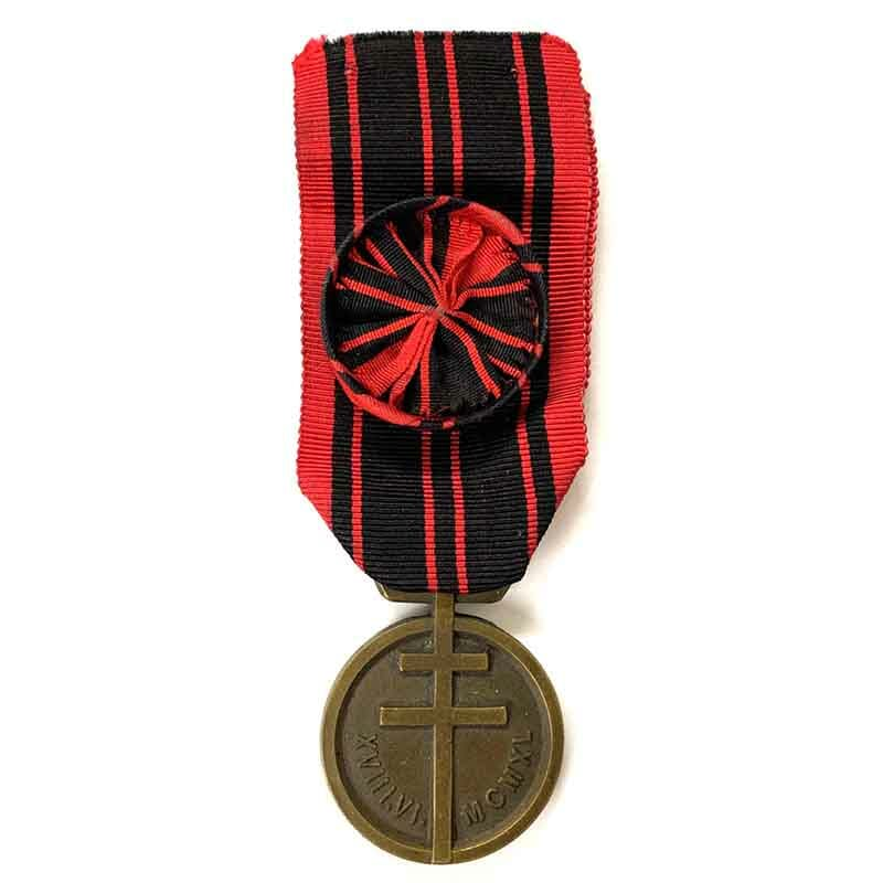Resistance medal 1939-1945 1st class 1