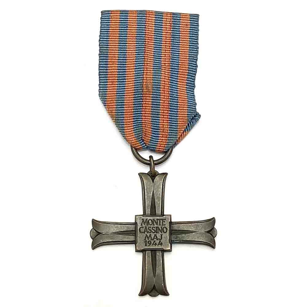Monte Cassino Cross officially numbered 1