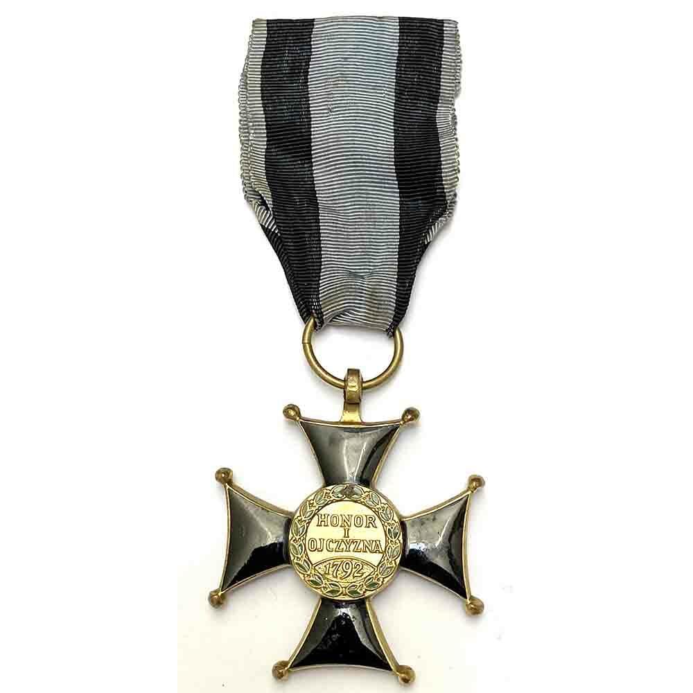 Order of  Virtute Militare 1918 3rd  class badge 2