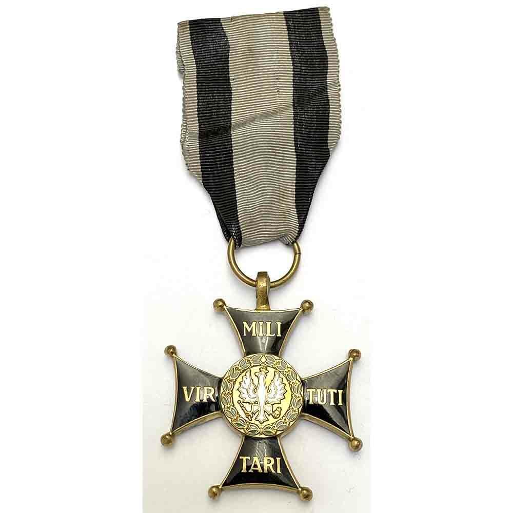 Order of  Virtute Militare 1918 3rd  class badge 1