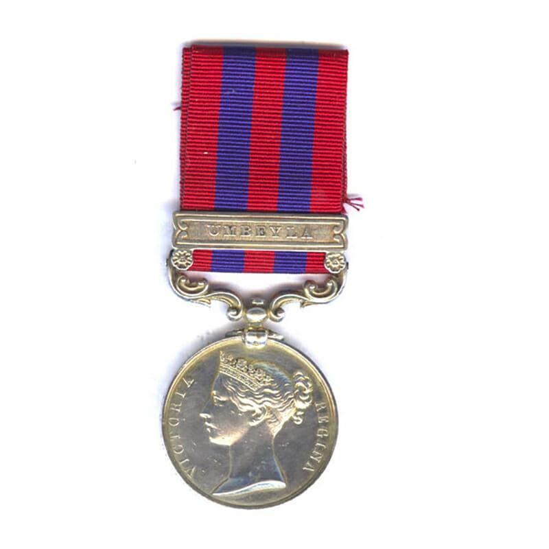 IGS 1854 Umbeyla 93rd Highlanders 1