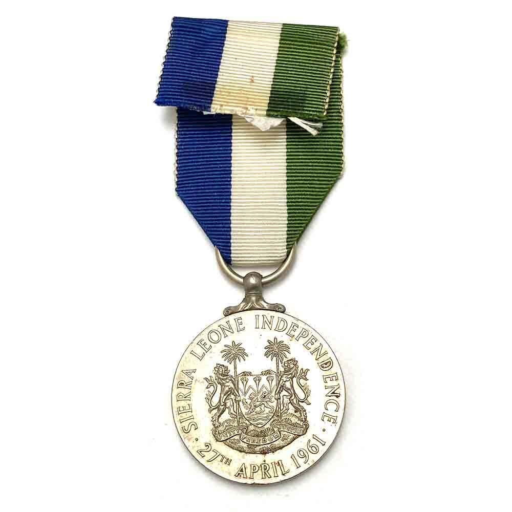 Sierra Leone Independence Medal 1961 2