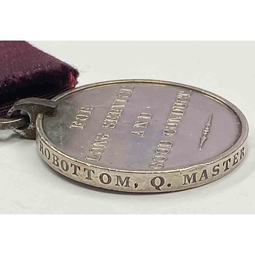 Army Long Service Medal 19th Regt WIV Issue 3