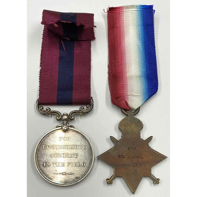 Distinguished Conduct Medal pair Manchester Regt 2