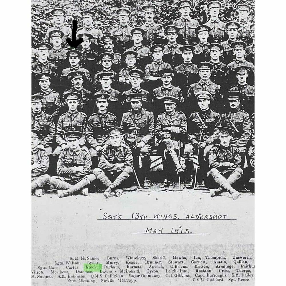 Military Medal Trio, CSM 13th Liverpool Regt 3