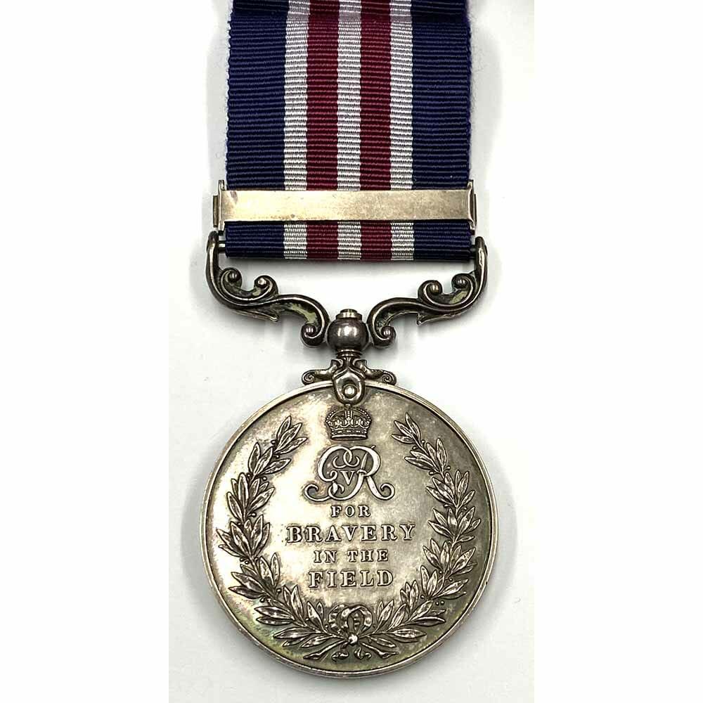 Military Medal, 2nd Award Bar, London Regt 2