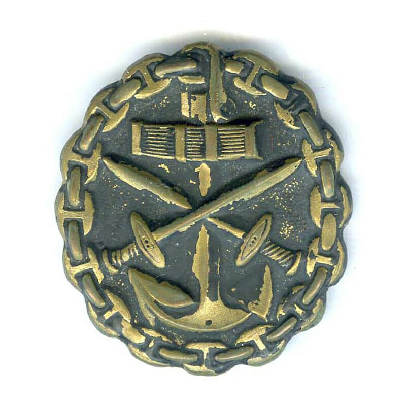 Marine Wound badge black 1