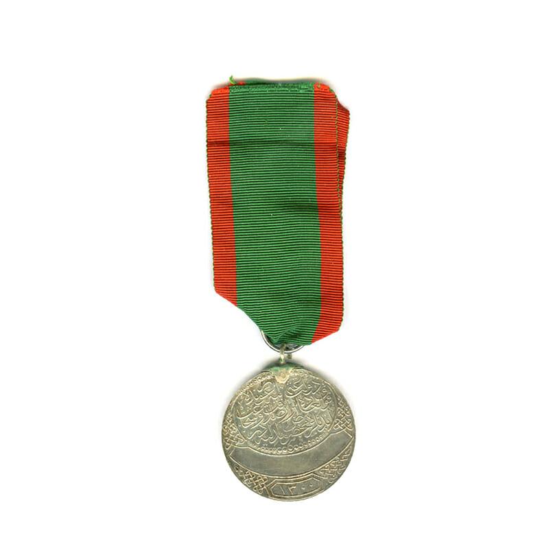 Imtiaz medal for Bravery and Loyalty (Tarzi Cedid Buyuk Imtiyaz) 1883 2nd... 2