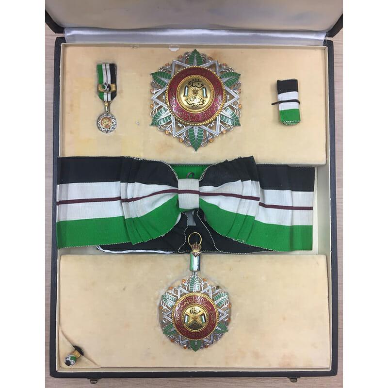 Order of El Nahda Grand Cross sash badge  and breast star 2nd... 1