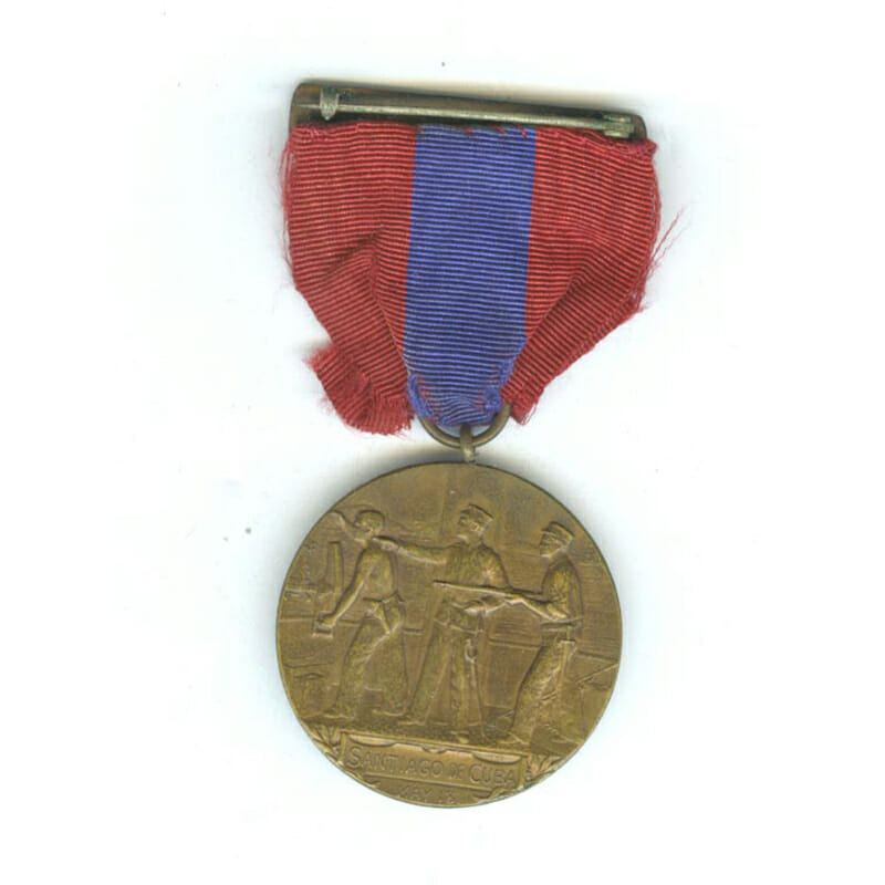Sampson Medal top bar U.S.S.  St. Louis 2