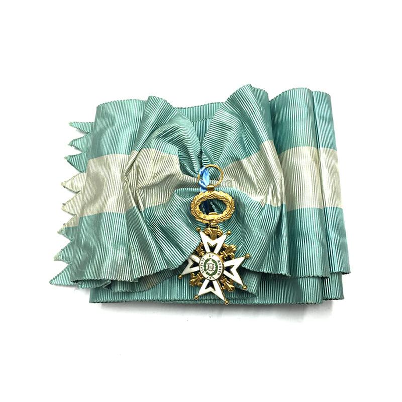 Order of Charles III Grand Cross sash badge 2