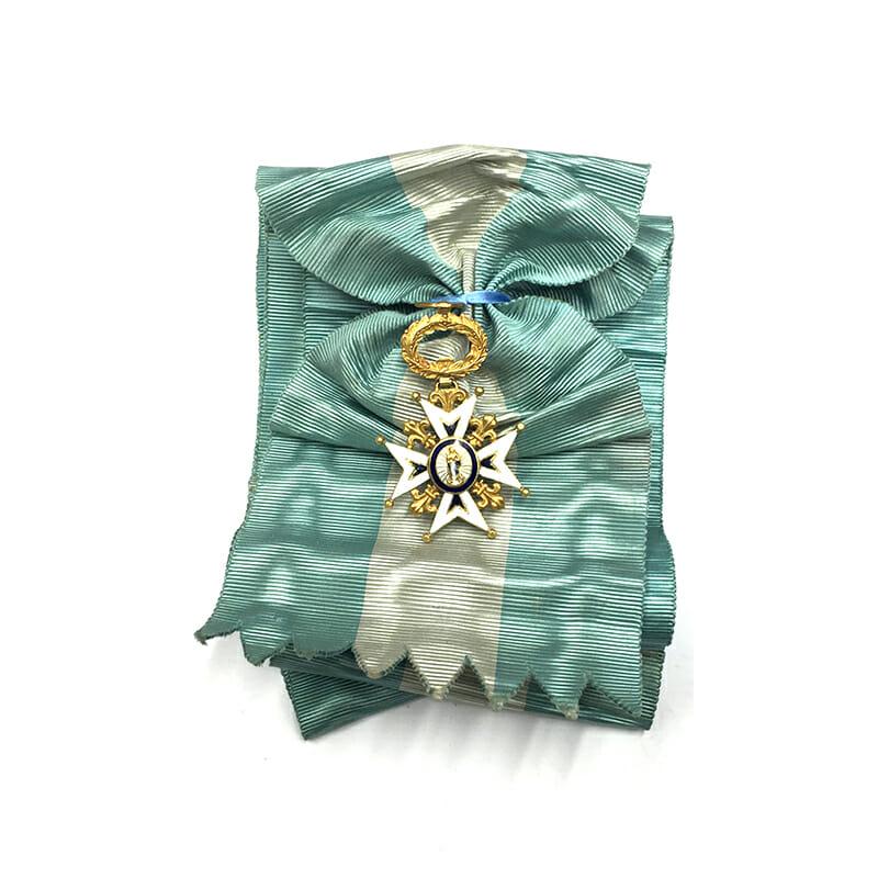 Order of Charles III Grand Cross sash badge 1