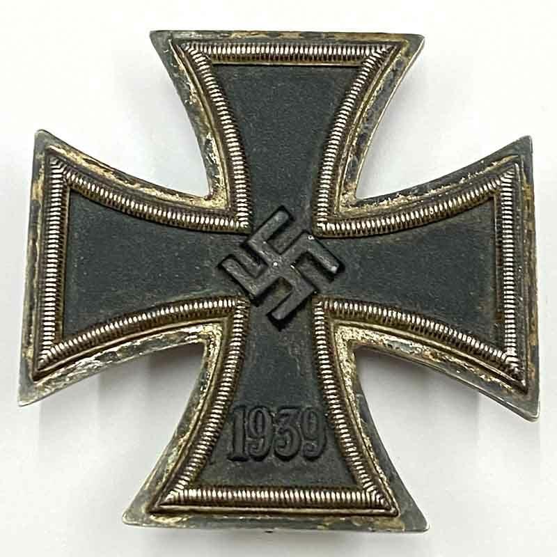 Iron Cross 1939 1st class  silver 1